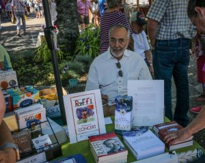 Raffi at Farmers Market, Salt Spring Island BC