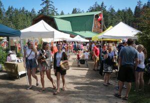 Farmers Market, Pender Island BC