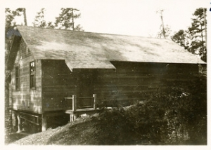 Old Community Hall, Saturna Island.