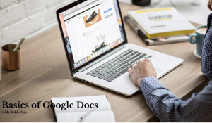 Basics of Google Docs