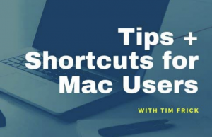 Tips for Mac Computer Users - 1on1 sessions